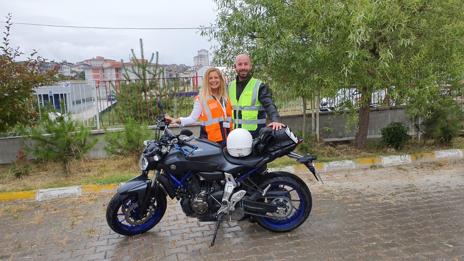 A SINIFI MOTORSİKLET UYGULAMA SINAVI